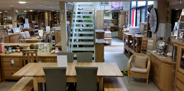 Over 5000 Square Foot of Oak and Pine Furniture.