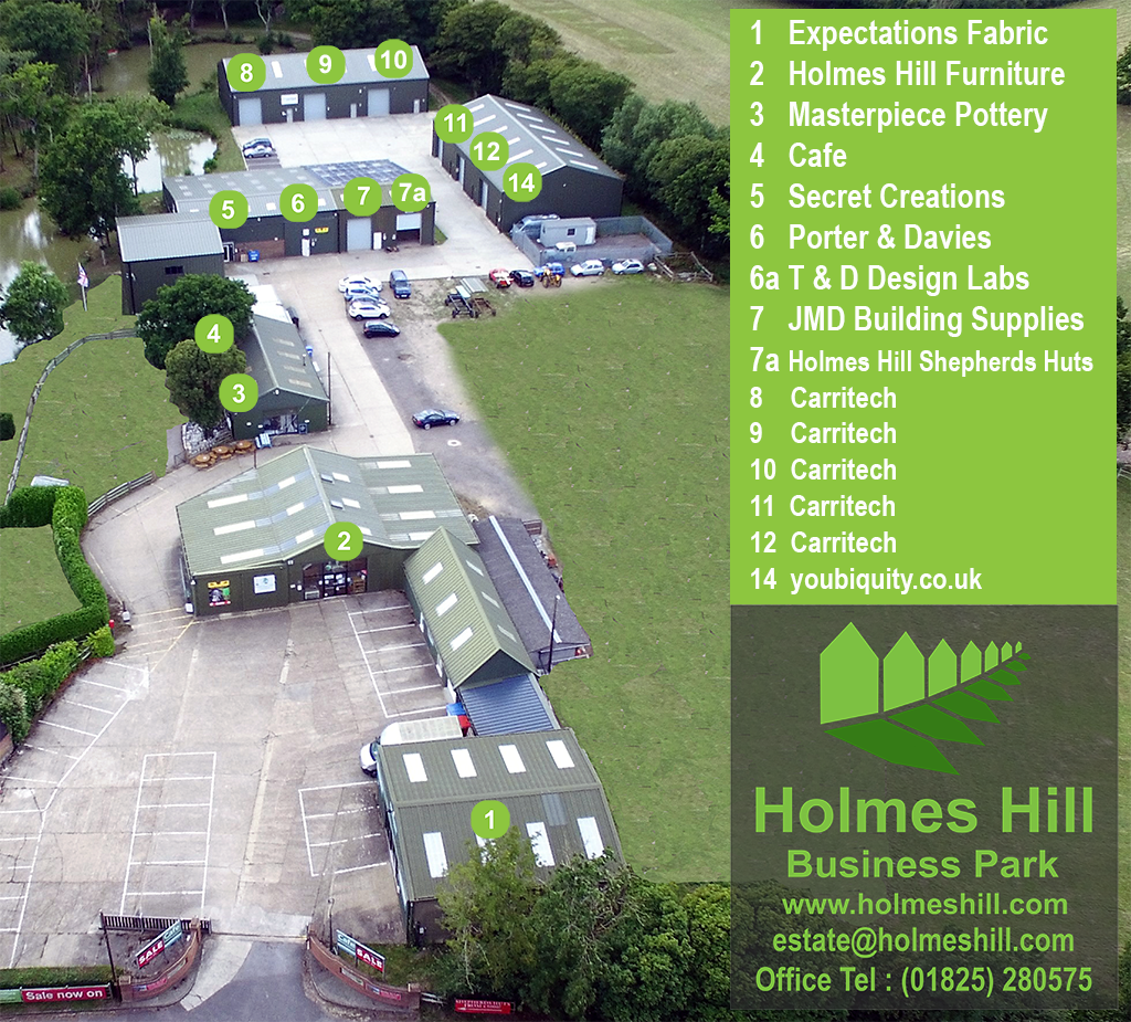 Holmes Hill Estate Map